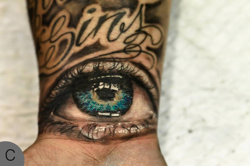 Vote Now The Eye Tattoo Battle Scene360 Ideas And Designs