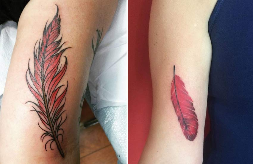 Feather Tattoo Meaning Types Designs Ideas Inspiration Ideas And Designs