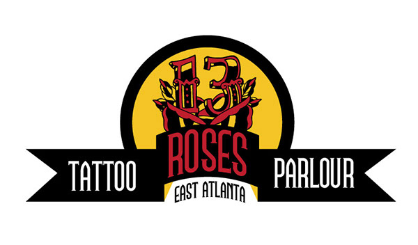 13 Roses Tattoo Parlour On Behance Ideas And Designs