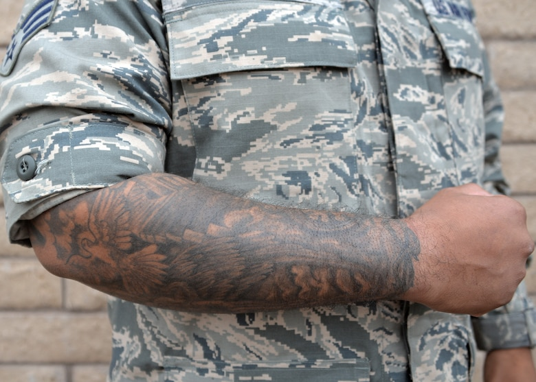 New Tattoo Policy Invites Qualified Recruits Luke Air Ideas And Designs