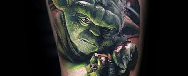 60 Yoda Tattoo Designs For Men Jedi Master Ink Ideas Ideas And Designs