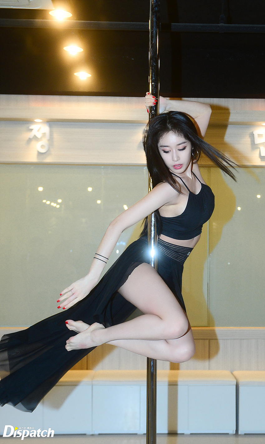 T Ara Jiyeon Causes Nosebleed With These Pole Dancing Pics Ideas And Designs