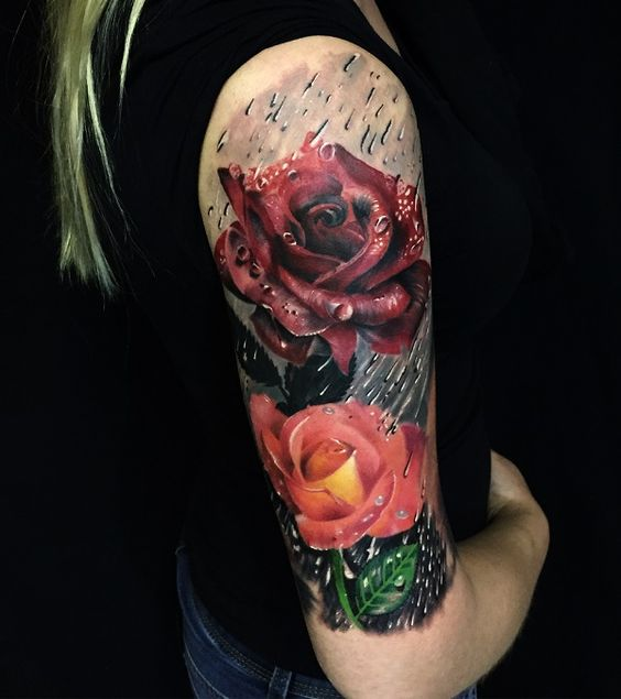 10 Stunning Rose Tattoos For Women Tattoos Ideas And Designs