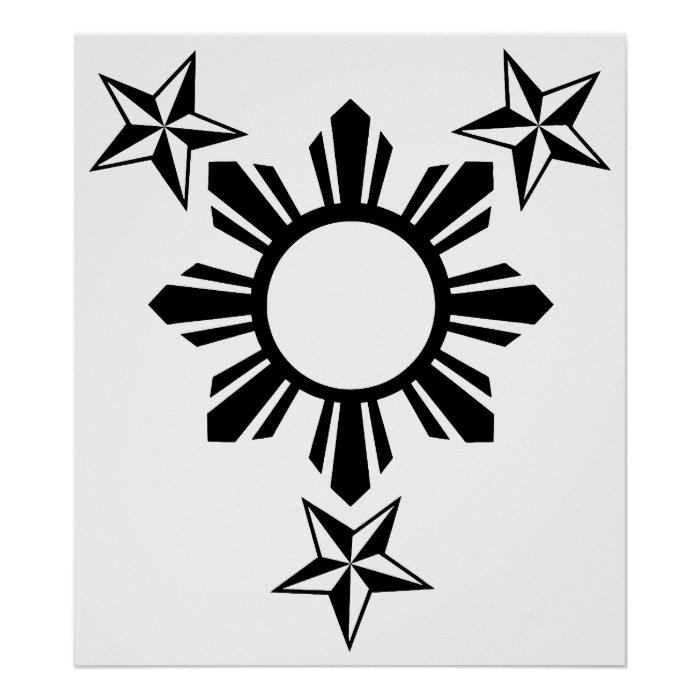 3 Stars And Sun Poster Zazzle Ideas And Designs