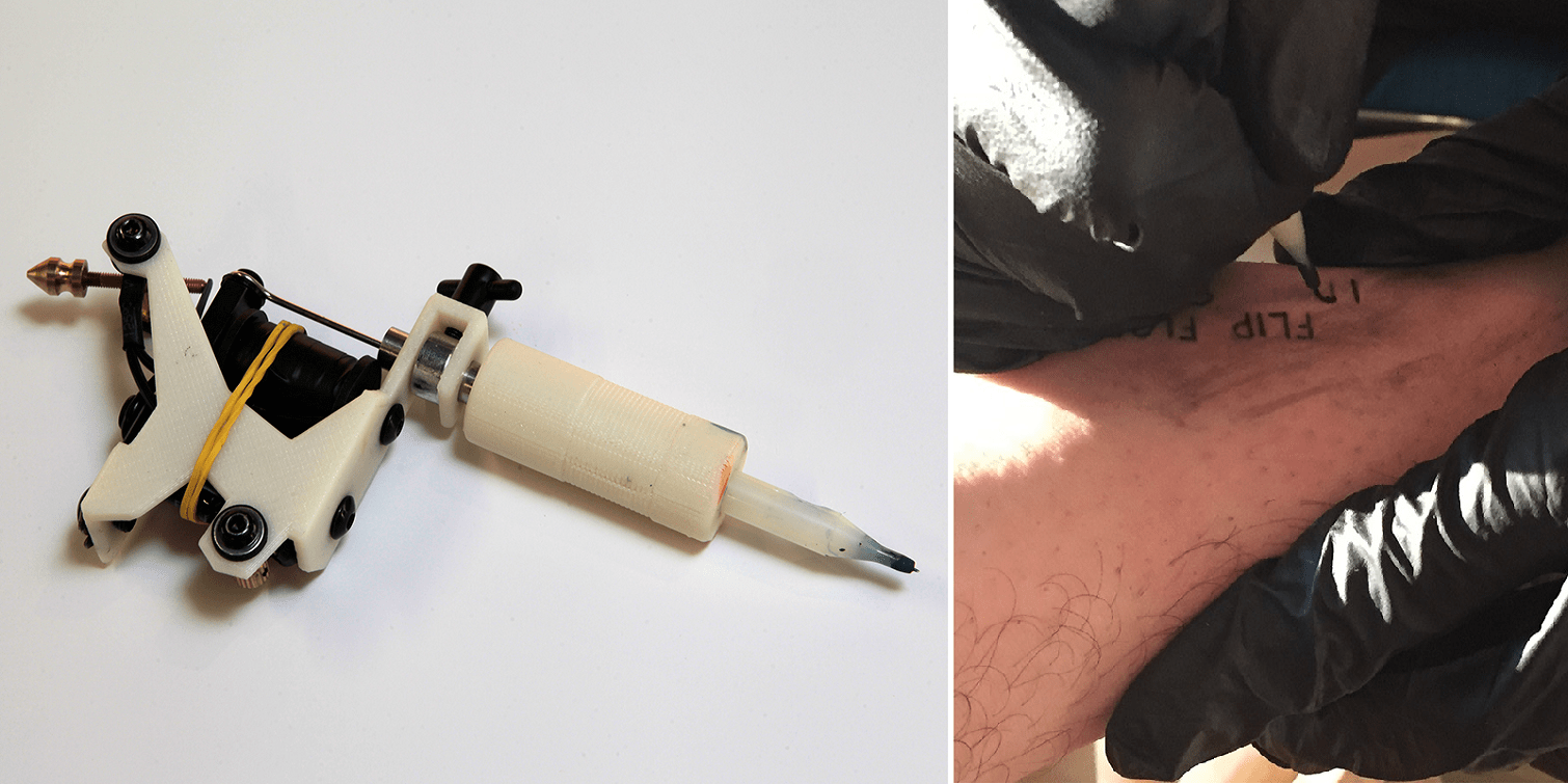 Designer Creates Fully Functional 3D Printed Tattoo Ideas And Designs