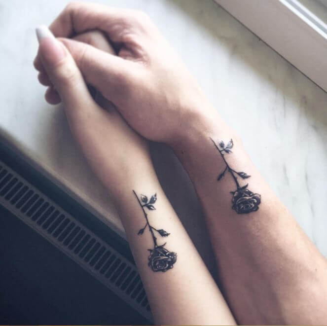109 Best Matching Couple Tattoos Improb Ideas And Designs