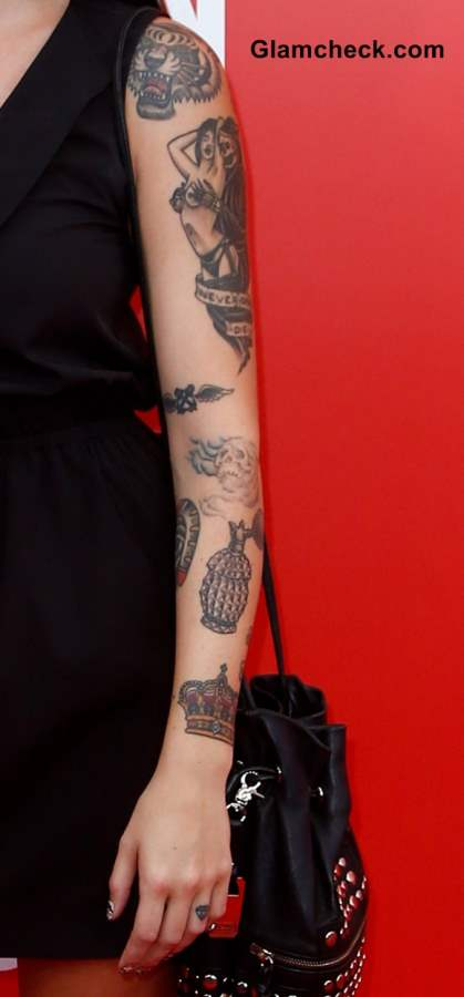 Alexis Krauss Arm Tattoos And Their Meaning Ideas And Designs