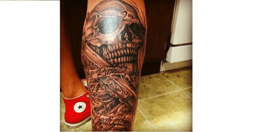10 Tattoos That Prove People Love Their Gun Rights Ideas And Designs