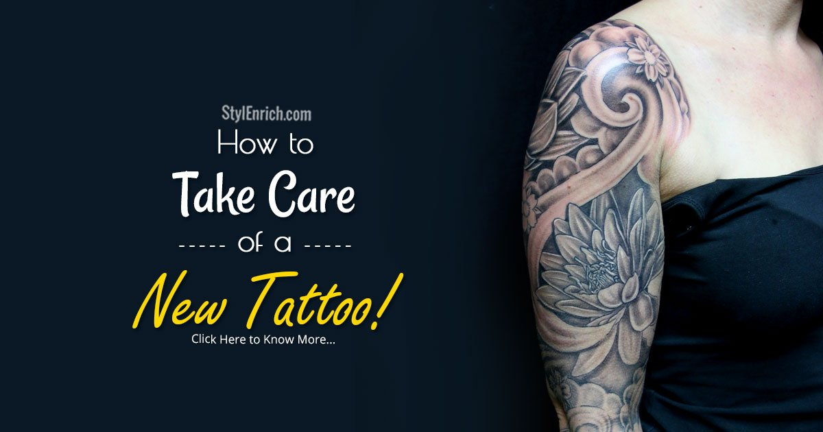 Tattoo Care Instructions – How To Take Care Of A New Tattoo Ideas And Designs