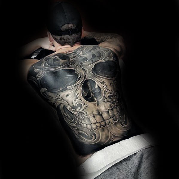 3D Skull Tattoo For Men Stylendesigns Ideas And Designs