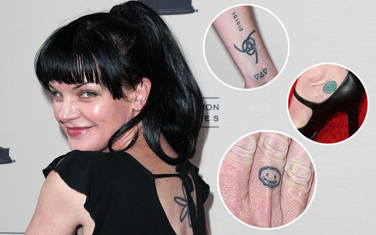 Pauley Perrette S Tattoos Real Or Just For Ncis Ideas And Designs