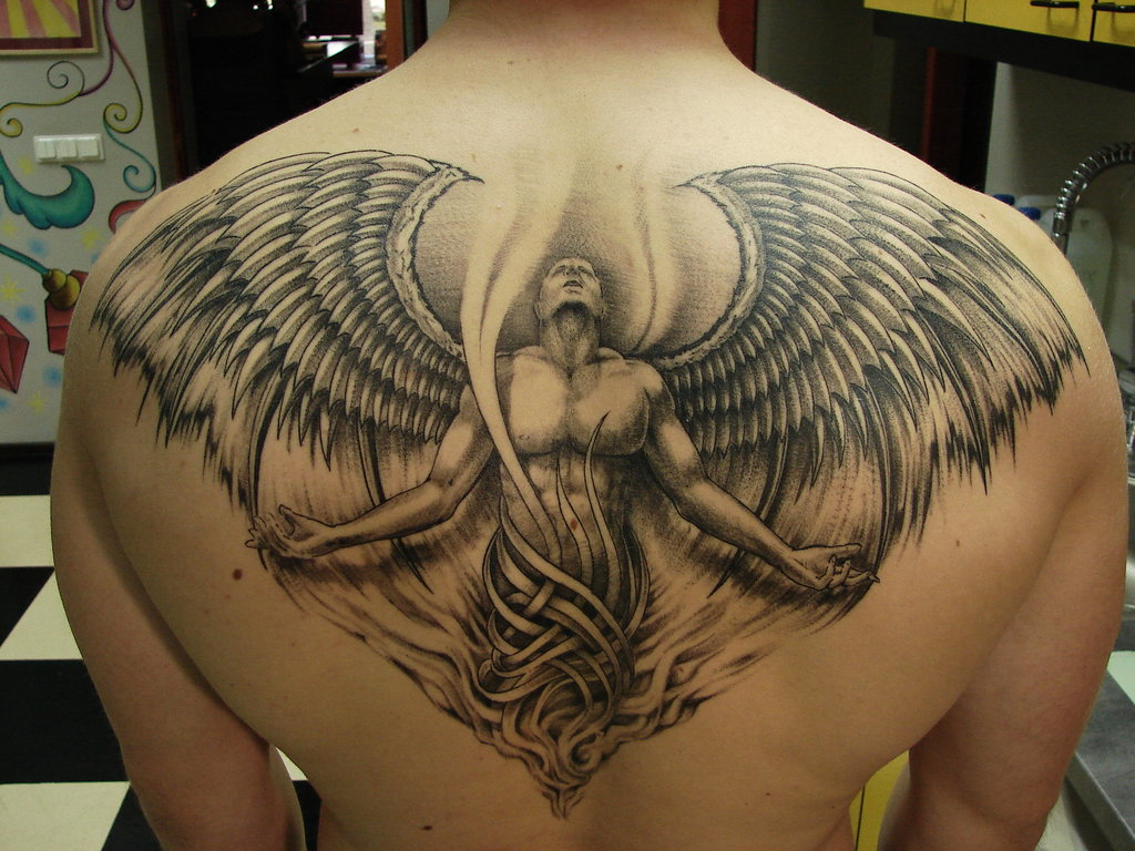 Free Tattoo Pictures Angel Tattoos Definition And Design Ideas And Designs