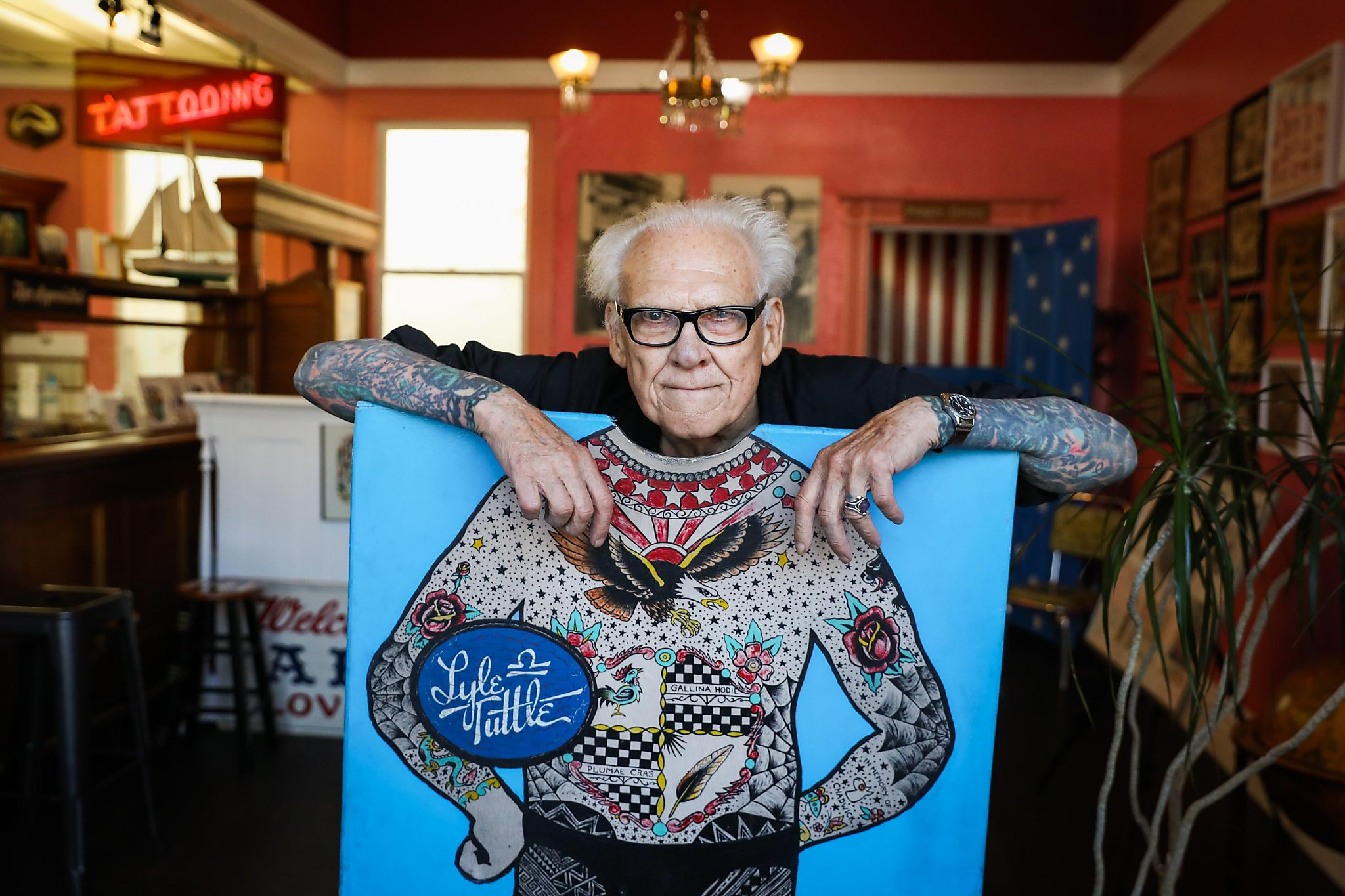 Lyle Tuttle Early Tattoo Artist Leaves Indelible Mark On Ideas And Designs