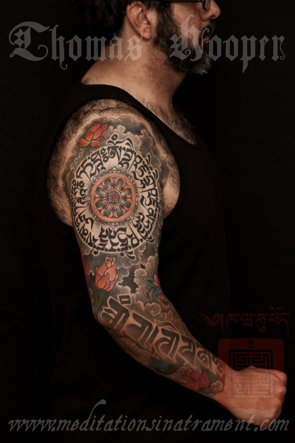 Tibetan Sleeve Tattoo By Thomas Hooper Nyc – 009 – August Ideas And Designs