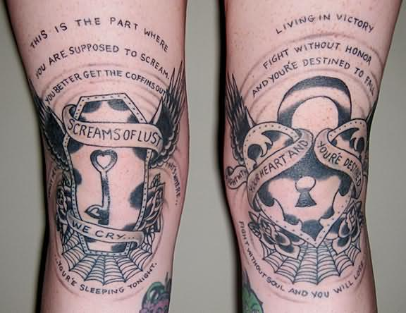 Cool Lock And Key Couples Tattoo On Forearm Tattoomagz Ideas And Designs