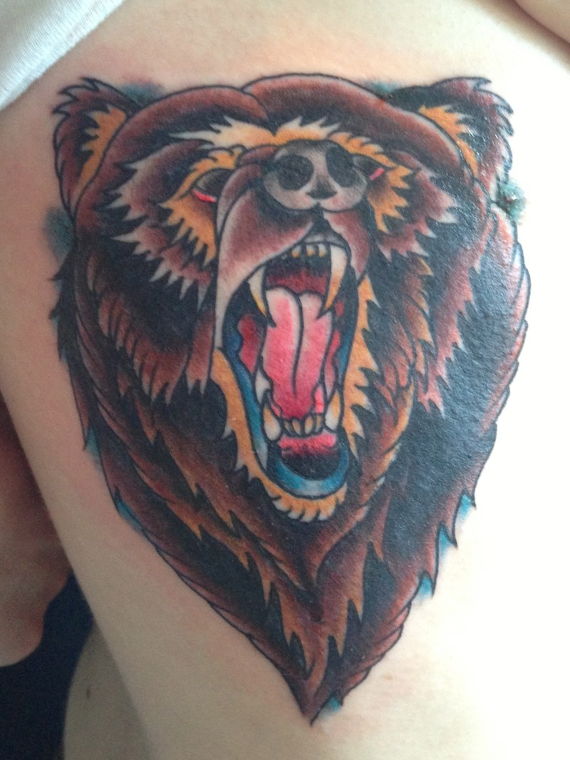 Grizzly Tattoo Salvation Ideas And Designs