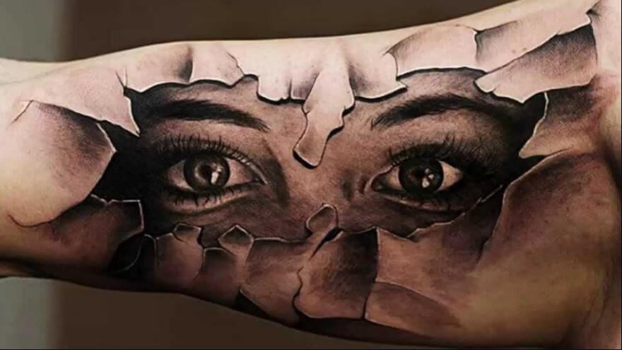 155 Best 3D Tattoos For Men 2019 Designs Ideas Ideas And Designs