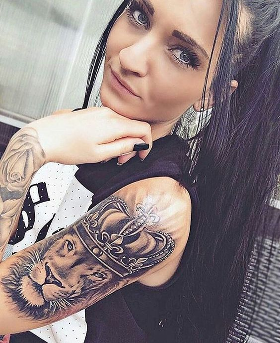 22 Stunning Sleeve Tattoos For Women Pop Tattoo Ideas And Designs