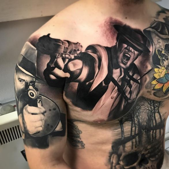 50 Cool Gangster Tattoos For Females 2019 Tattoo Ideas And Designs