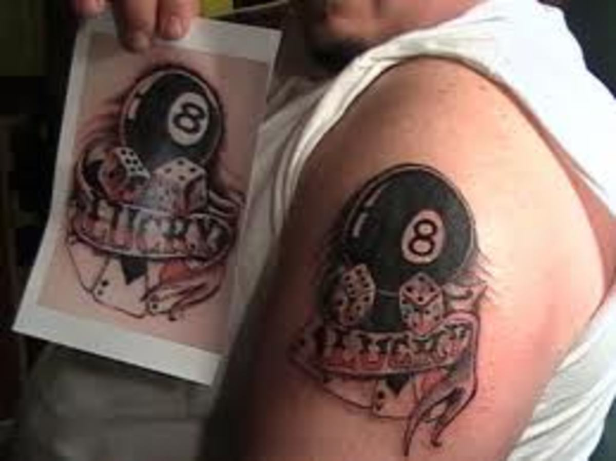 Eight Ball Tattoos Ideas Meanings And Pictures Tatring Ideas And Designs