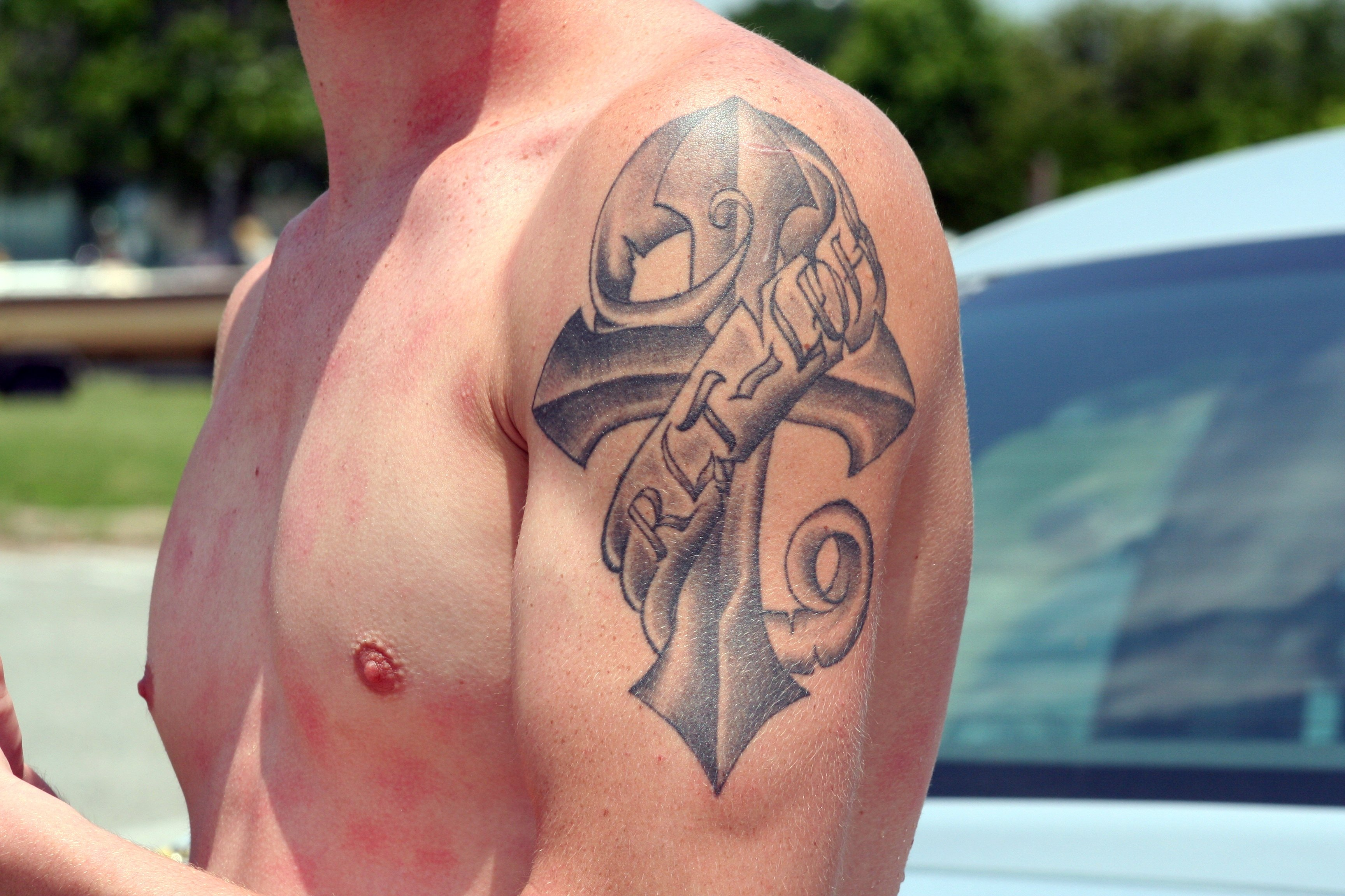 File First Tattoo 3593353968 Jpg Wikimedia Commons Ideas And Designs