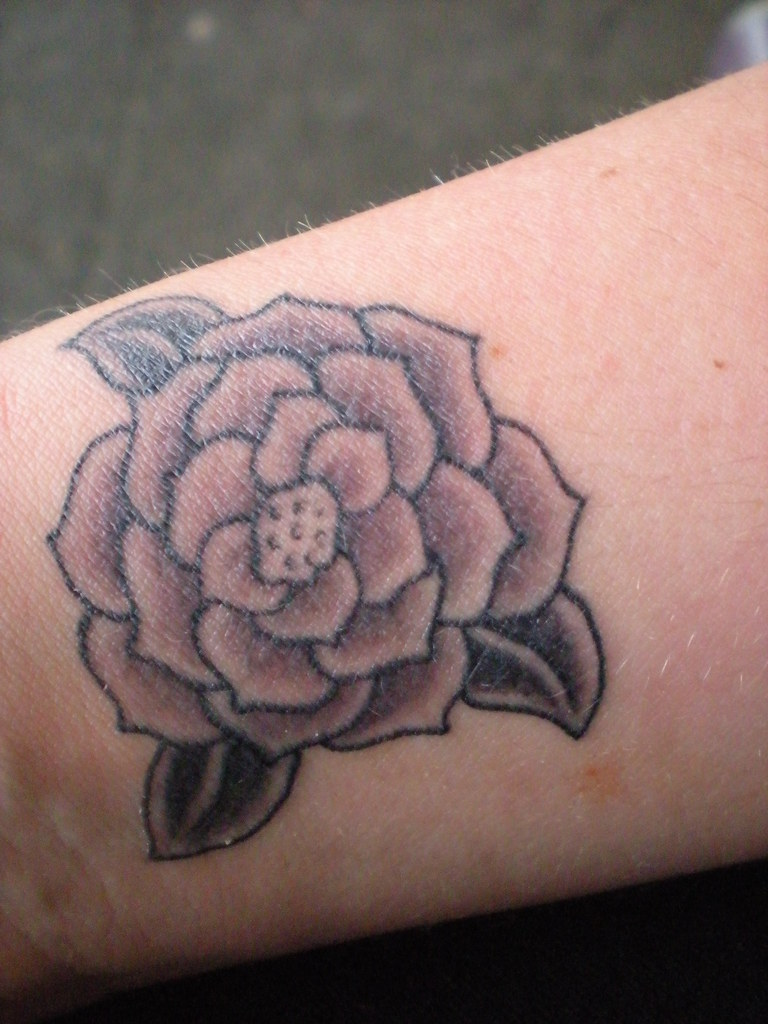 The World S Best Photos Of Camellia And Tattoo Flickr Ideas And Designs