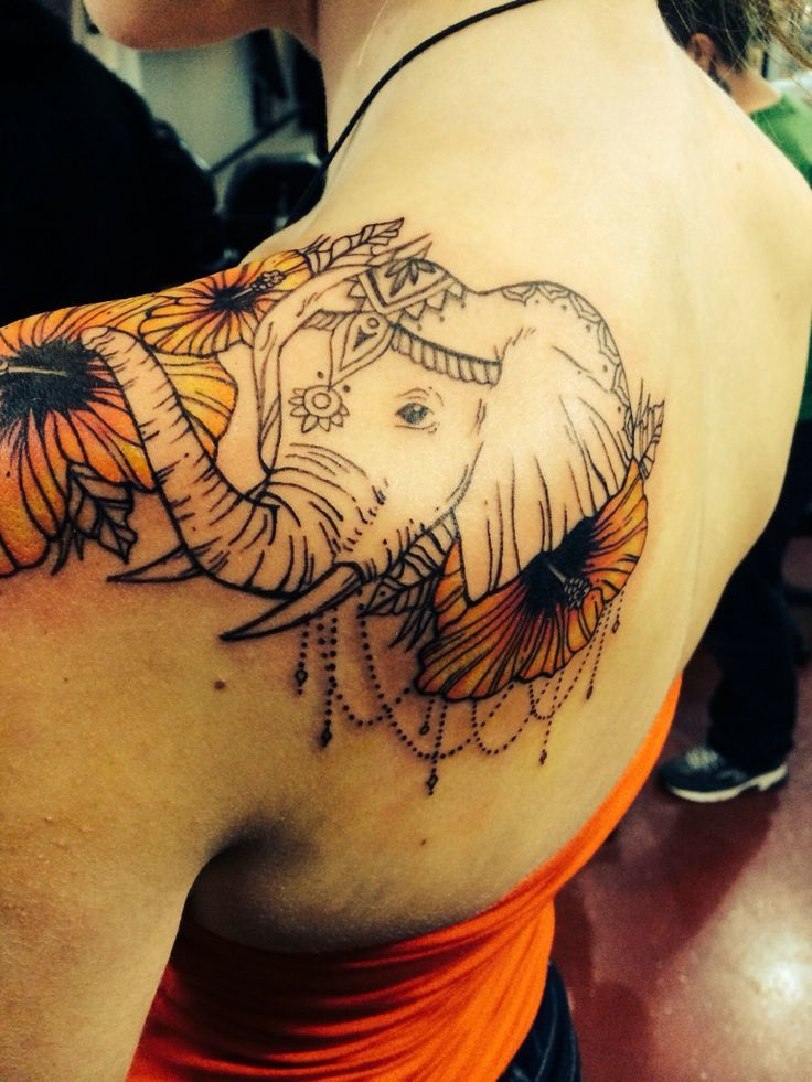 60 Best Elephant Tattoos – Meanings Ideas And Designs 2019 Ideas And Designs
