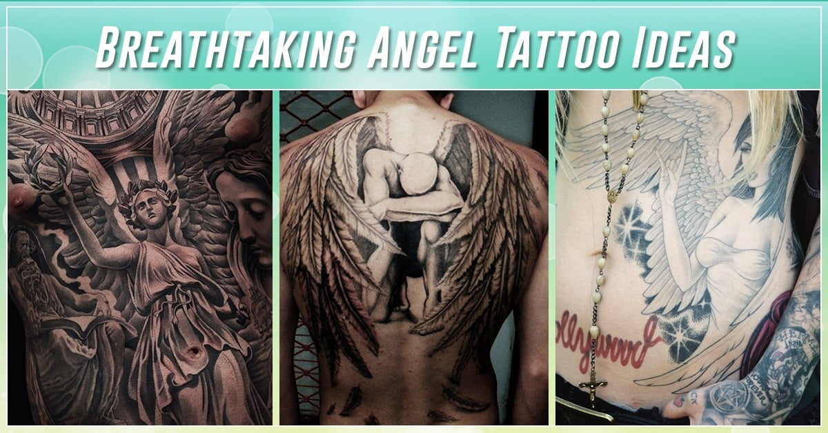 60 Best Angel Tattoos – Meanings Ideas And Designs For 2019 Ideas And Designs