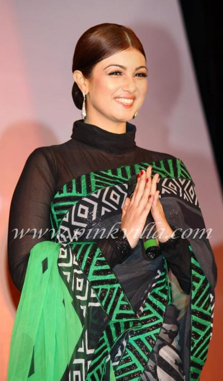 Ayesha Takia At The Launch Of The Indo Pak Music Show Sur Ideas And Designs