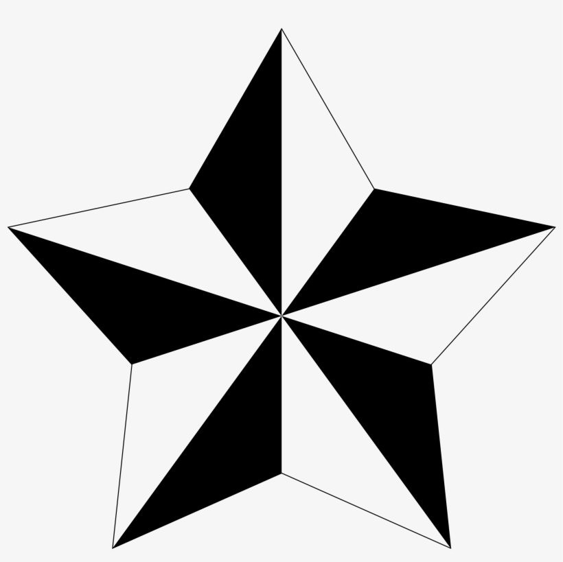 Pentagram Clipart Small Four Point Star Tattoo Ideas And Designs