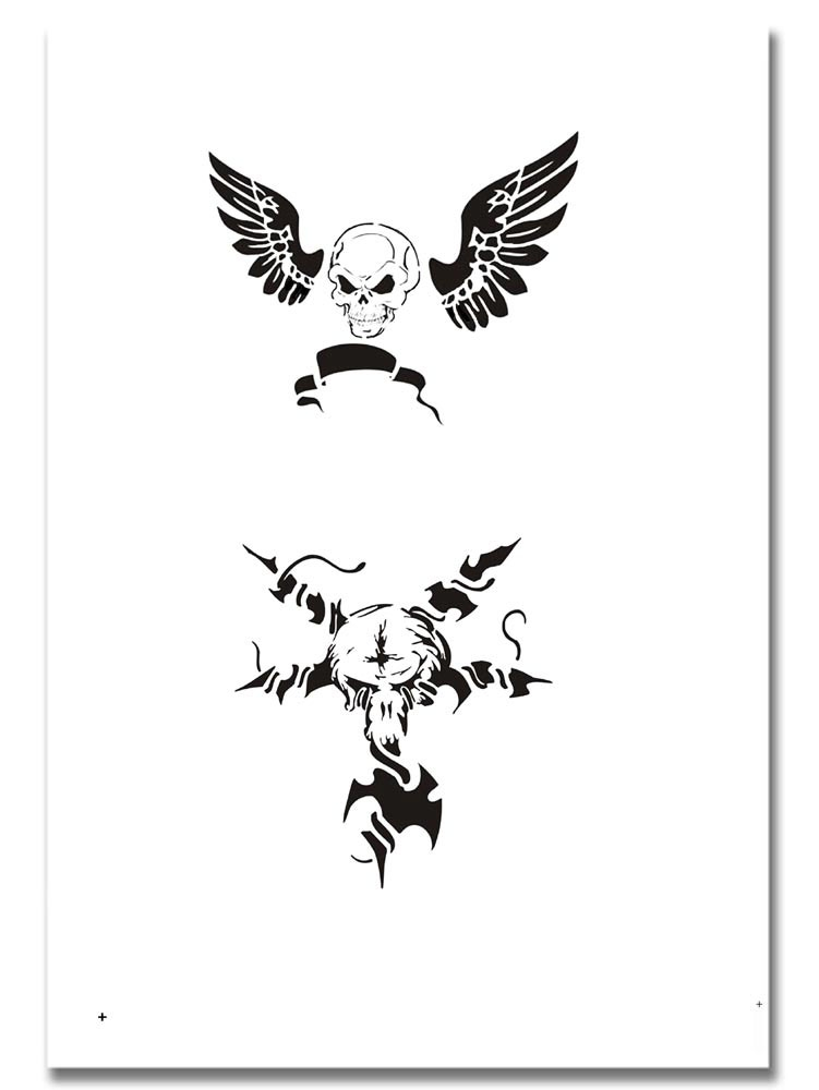 Airbrush Tattoo Schablone 314 Ideas And Designs