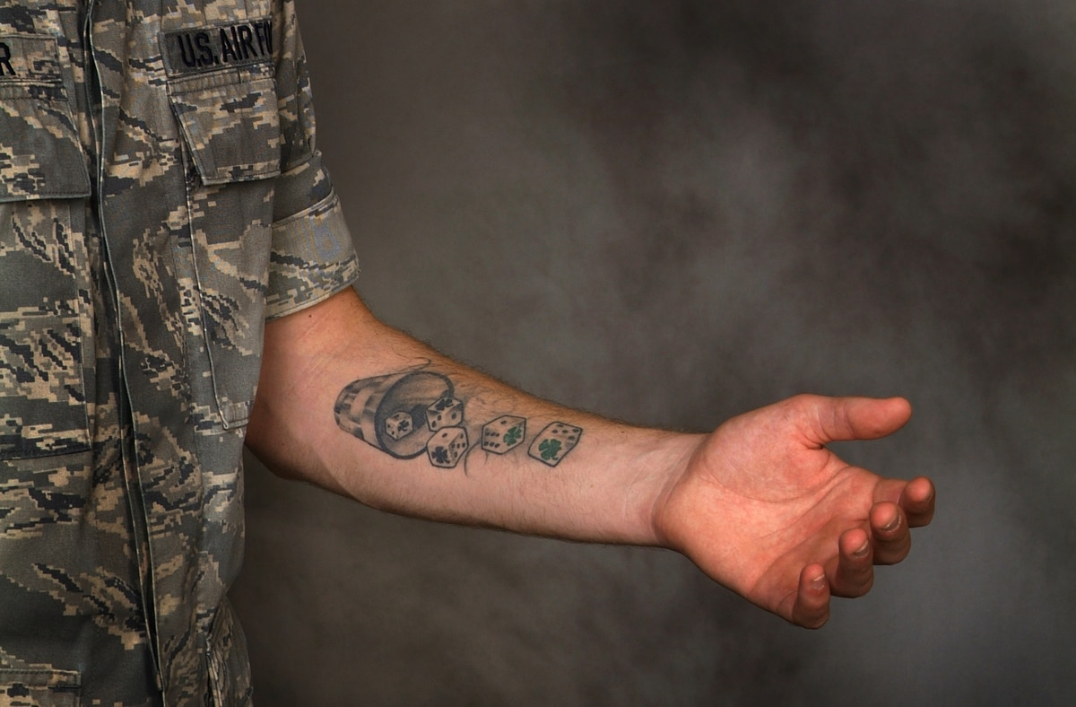 Air Force To Review Its Tattoo Policy Ideas And Designs