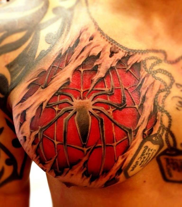 50 Awesome 3D Chest Tattoo Designs Gravetics Ideas And Designs