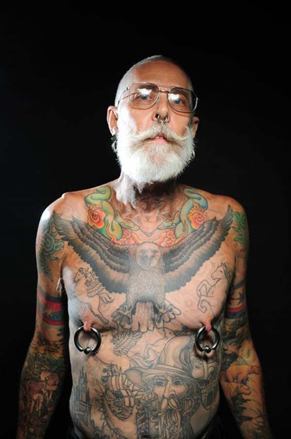 Tattooed Seniors Response To What About When You Re Older Ideas And Designs