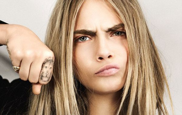 Cara Delevingne Got A Fab New Tattoo And It's Harry Ideas And Designs
