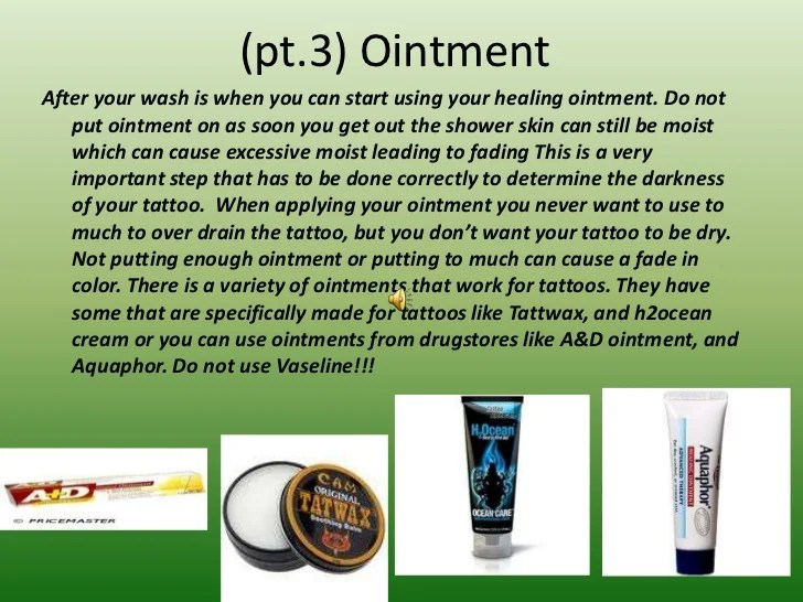 Properly Healing Tattoos Ideas And Designs