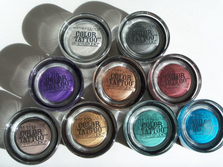 Maybelline Eye Studio Color Tattoo 24Hr Cream Gel Eye Ideas And Designs