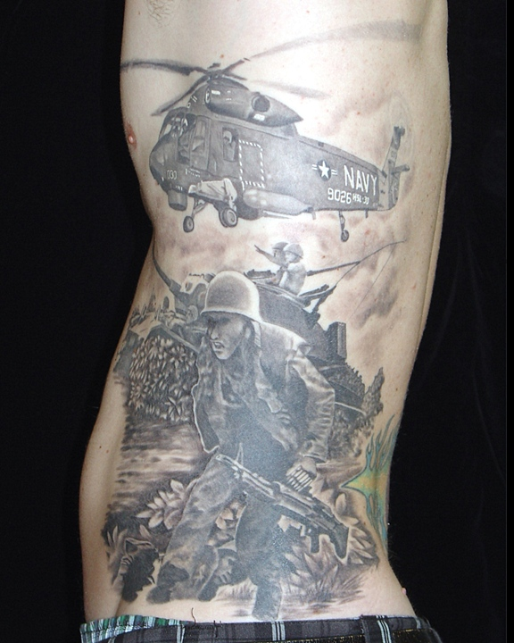 8Th Day Tattoo Korean War Helo Ideas And Designs
