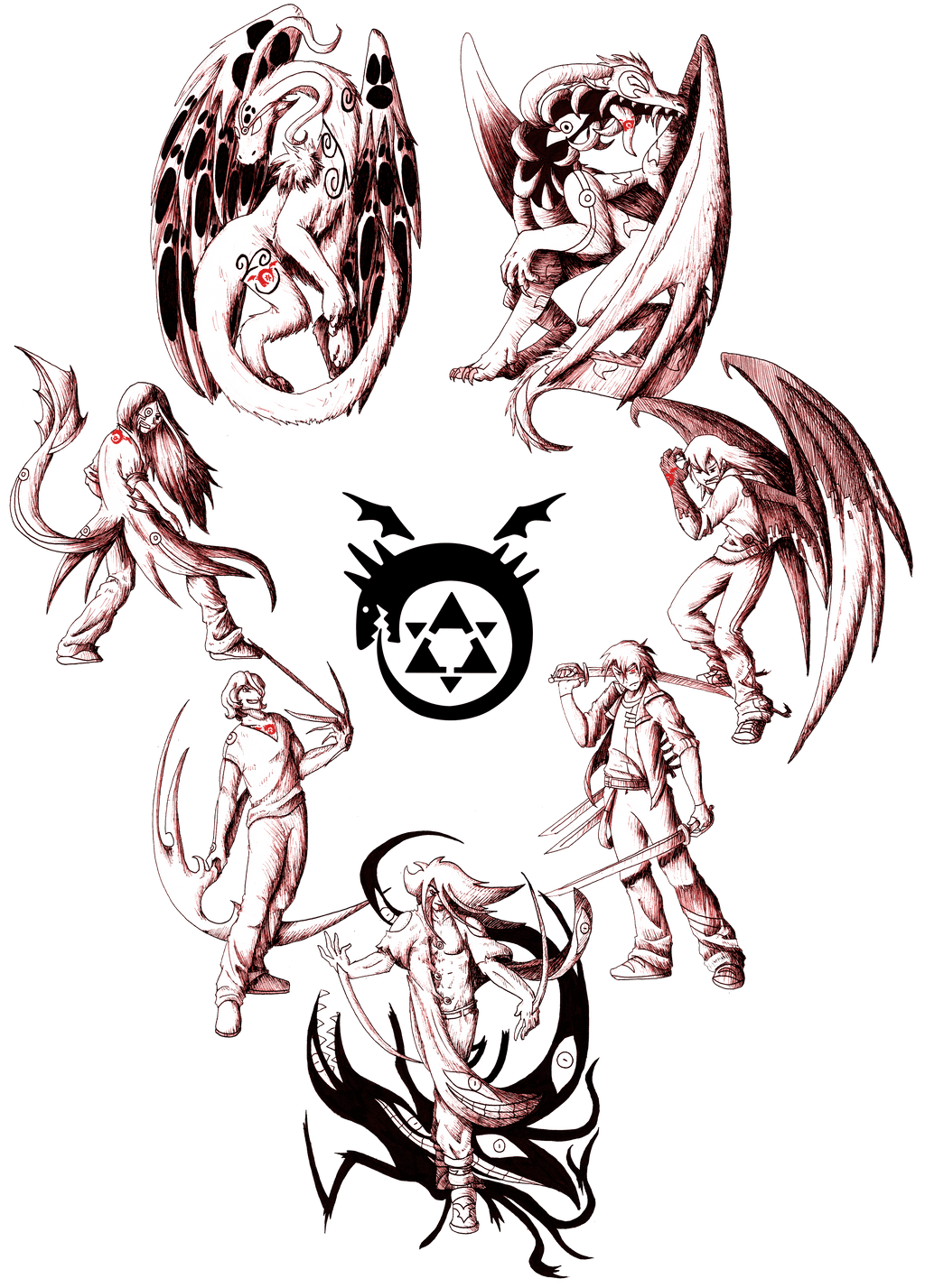 The Seven Deadly Sins By Flaresiram On Deviantart Ideas And Designs
