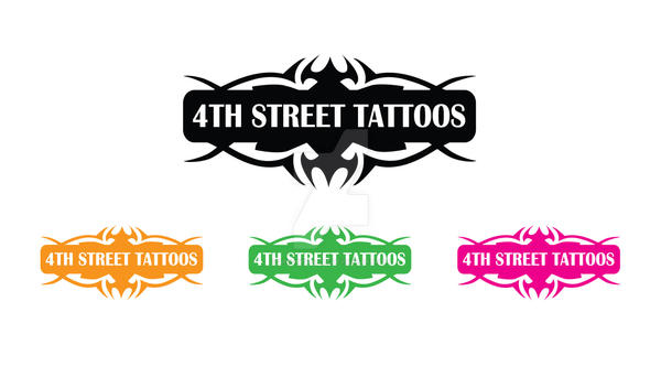 4Th Street Tattoo Logo By Spookyspittle On Deviantart Ideas And Designs