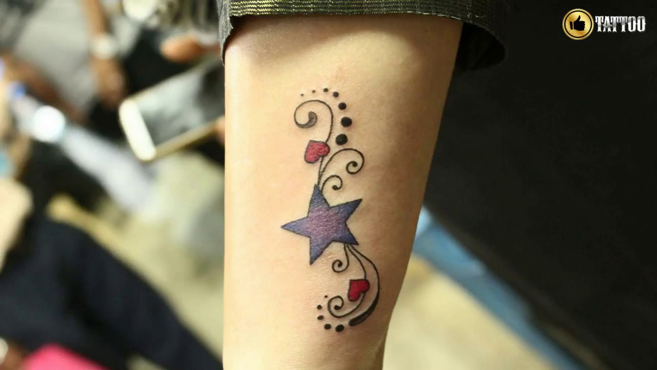 Best Simple Star Tattoo Design Idea Youtube Ideas And Designs