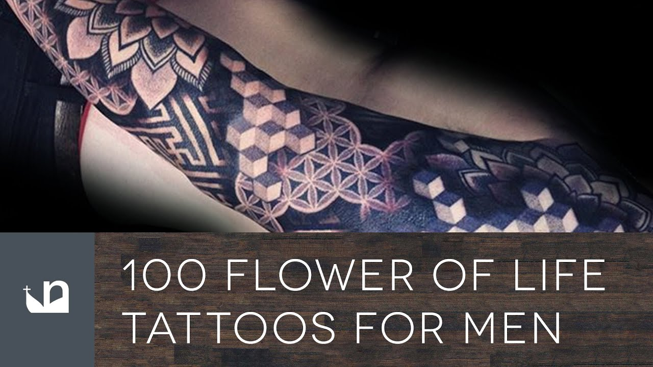 100 Flower Of Life Tattoos For Men Youtube Ideas And Designs