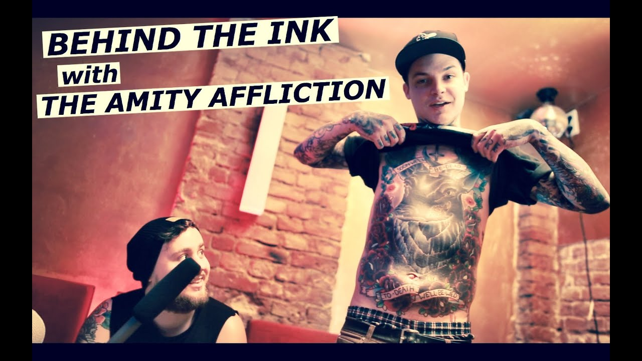 The Amity Affliction Behind The Ink With Ahren Stringer Ideas And Designs