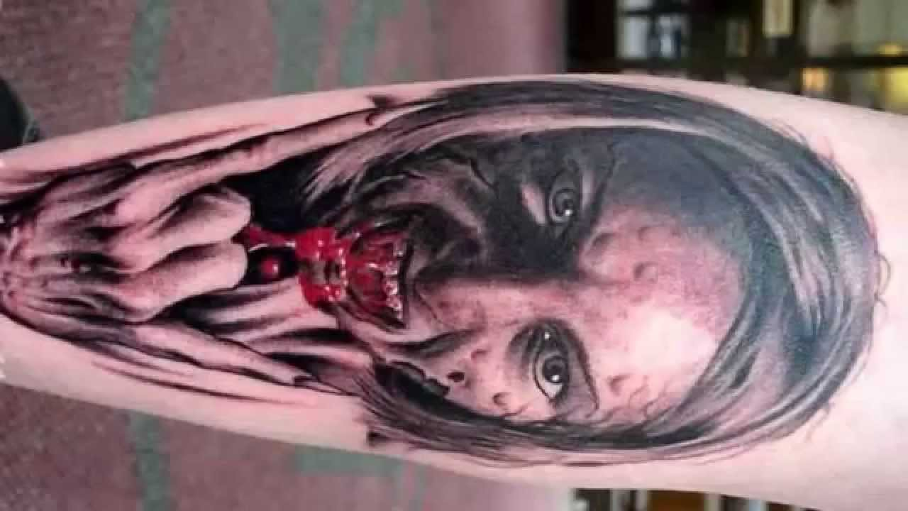 Scary 3D Tattoos Amazing Tattoo Designs Hd Youtube Ideas And Designs