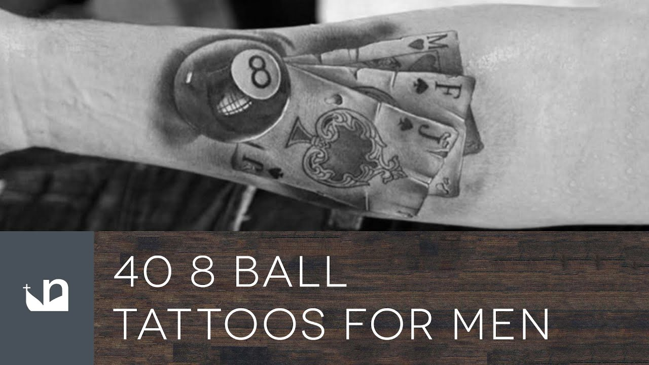 40 8 Ball Tattoos For Men Youtube Ideas And Designs
