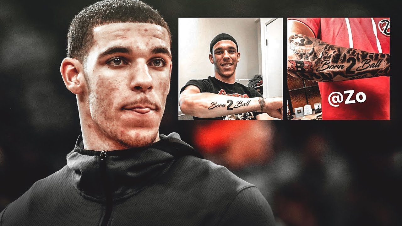 Lonzo Ball Tattoos Youtube Ideas And Designs