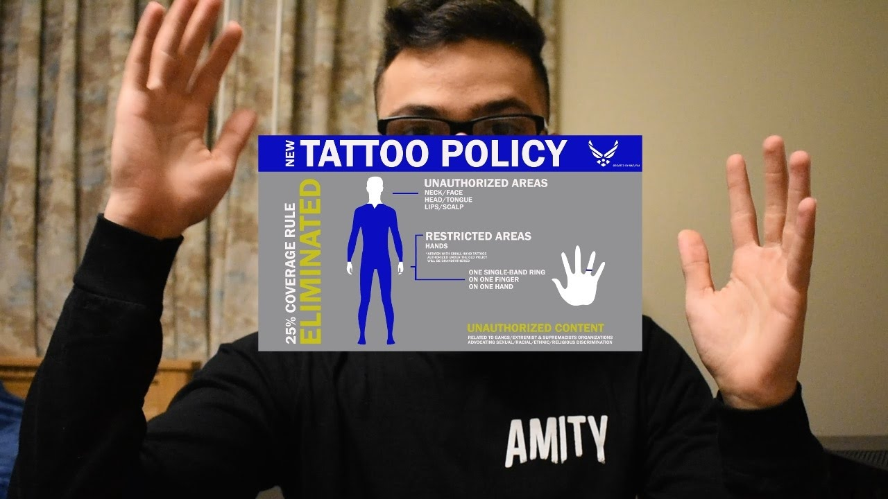 New Air Force Tattoo Policy 2017 Youtube Ideas And Designs