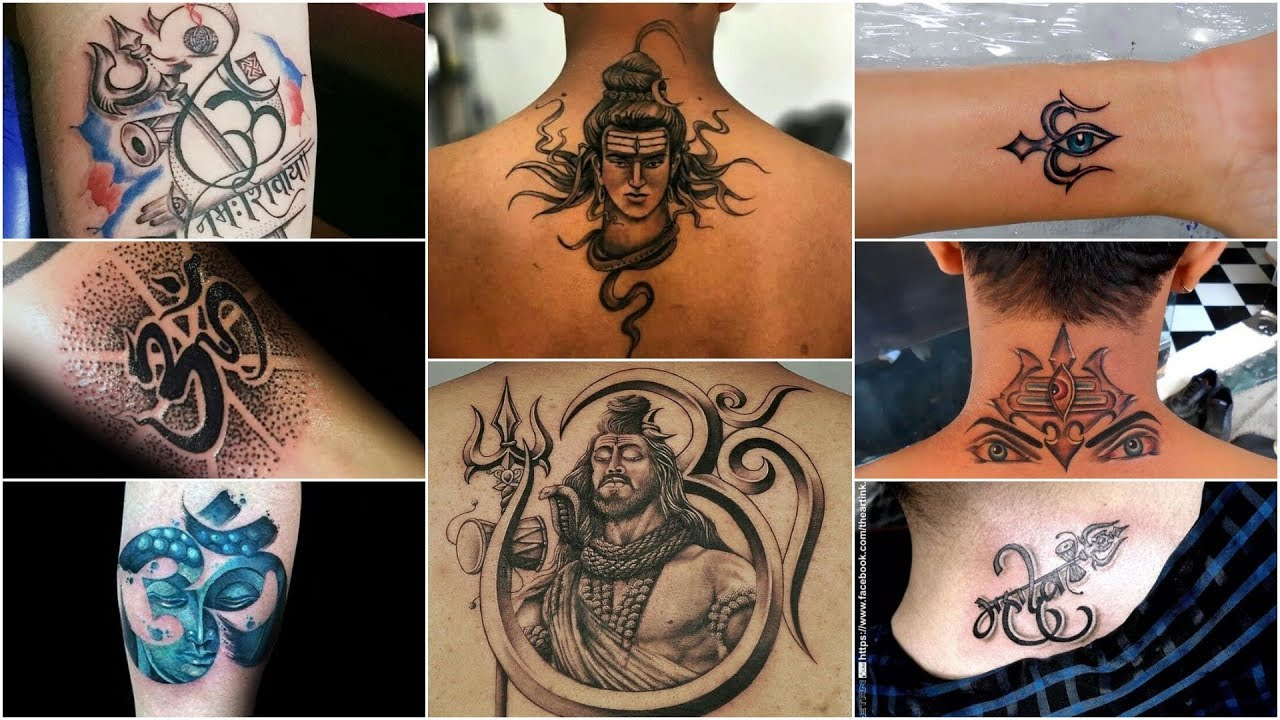 80 Om Trishul Tattoos For Men 2019 Best Shiv Tattoos Ideas And Designs