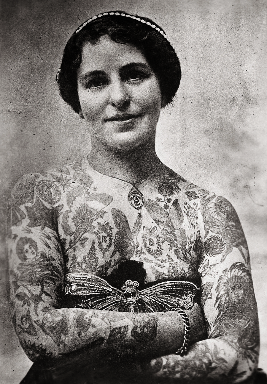 The Gorgeous History Of Tattoos From 1900 To Present Ideas And Designs