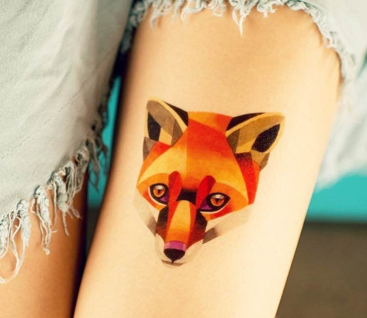 Foxi Sasha Unisex Tattoo 2016 Art Ideas And Designs